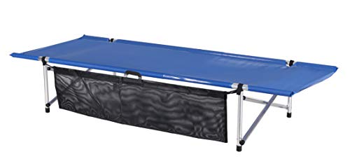 Camp Time Roll-a-Cot, with River-Runner mesh top, 28' wide, Portable sleeping comfort, Quality USA...