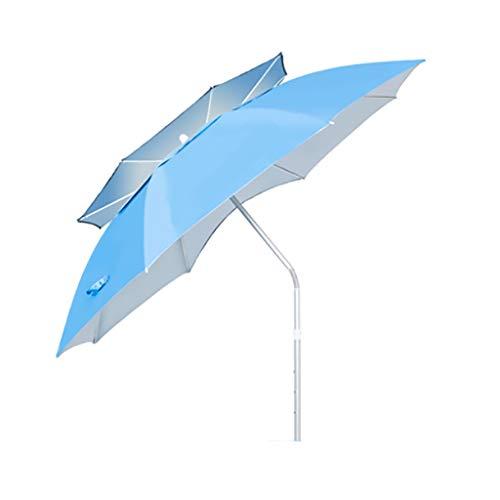 Sombrillas Pesca Paraguas Al Aire Libre Pesca / 2.2 m / 2.4 m Pesca/Universal/Lluvia Grande/Protector Solar Plegable