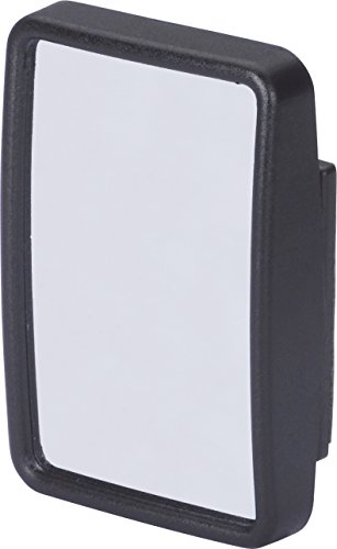 Preisvergleich Produktbild hr-imotion kompakter Toter-Winkel-Spiegel (Fahrschuhlspiegel) zur Befestigung am Außenspiegel [Made in Germany / Blickwinkel einstellbar / sekundenschnelle Montage] - 10410101