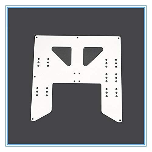 Neigei Sin para TL-Smoother1pc Silver 3D Printer Upgrade Y Carriage Placa de Aluminio anodizado para A8 A6 Soporte de Cama Caliente para impresoras 3D Anet A8 I3