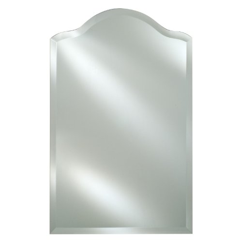 Afina Radiance Scallop Top 1 in. Beveled Wall Mirror (Medium)