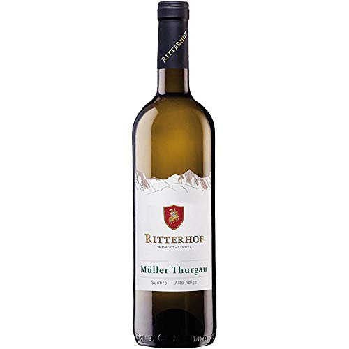 Müller Thurgau Alto Adige Doc | Ritterhof | Vino Bianco Altoatesino | Sudtirol | Bottiglia 75 Cl | Idea Regalo
