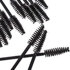 50pcs jetable cils mascara noir Baguette brosse d'applicateur par Boolavard ® TM