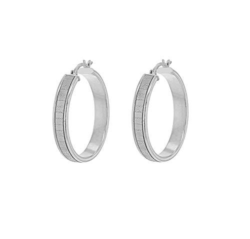 Tuscany Silver Pendientes de aro Mujer plata - 8.51.2209