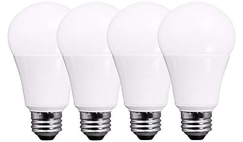 TCP RLA10050ND4 Eco$ave LED Light Bulb, A19 Shape, 100 Watt, Daylight, 4 Count