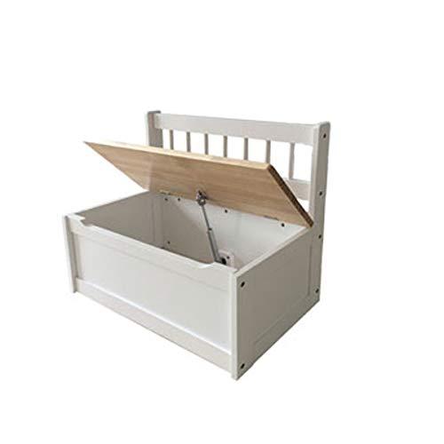 Truhenbank für Kinder Spielzeugtruhe, 60x30x50cm - 2