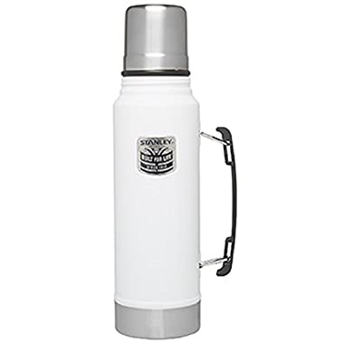 Stanley Classic Vacuum Bottle Thermos - Special Edition (White)
