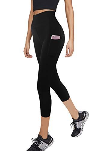 3W GRT Leggings Mujer Fitness,Mallas Deportivas de Mujer,Pantalones elásticos de Yoga con...
