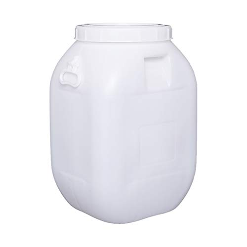 Best Buy! GMSX 60L Water Tank with Lid Seal, Plastic Thick Chemical Barrel/Wine Barrel/Fermenter, Ho...