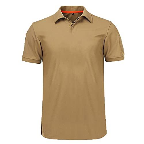 Camiseta para Hombre, Camiseta CláSica De Verano De AlgodóN De Manga Corta, Camisetas Casuales SóLidas para Hombre, Camisetas para Hombre De Negocios, Camisetas De Golf, Camisa, Tops