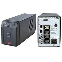 APC Smart-UPS SC - SC420I - Unterbrechungsfreie Stromversorgung (420VA, Line Interactive, 4 Ausgänge IEC-C13, Shutdown Software)