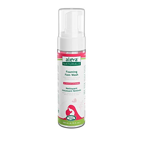 Foaming Feminine Wash  For Intimate Areas  Self-Foaming Pump  pH Balanced  Cleanses and Refreshes  Made with Natural and Organic Ingredients  Dermatologist & Gynecologist Tested  (6.7 fl.oz / 200ml)