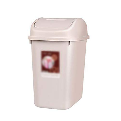 Keuken Prullenbak, Met Schommel Top Deksel Verborgen Vuilniszak Rechthoekige Plastic Vuilnisbak Home for Office Kamer Badkamer Modern Wastebaskets-Pink,Pink