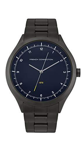 French Connection Quarz Uhr mit Edelstahl Armband FC142BM
