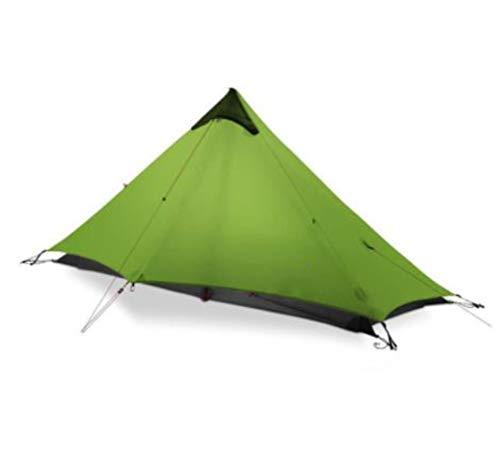 Tienda de campaña ultraligera para 1 persona para 2 personas, para acampar 15D, 3 estaciones, para invierno, para 4 estaciones