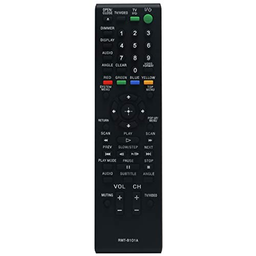 RMT-B101A Replace Remote Control Applicable for Sony Blu-ray Player BDP-S500 BDP-S300 BDP-S2000ES BDP-S301 BDPS500 BDPS300 BDPS2000ES BDPS301