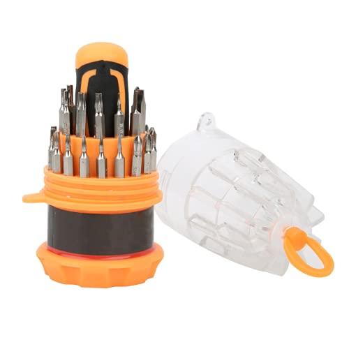 Destornillador Herramienta De Reparación De Teléfonos Móviles Durabilidad Broca De Destornillador para El Hogar(31 Conjuntos)