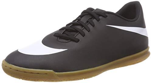 Nike Bravatax II IC, Scarpe da Calcetto Indoor Uomo, Nero (Black/White/Black 001), 38.5 EU