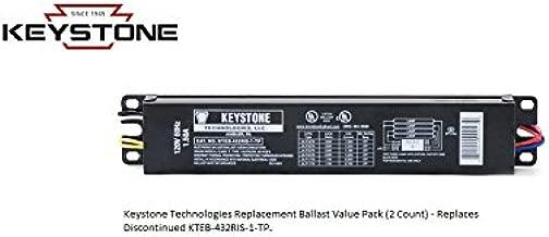 Keystone Replacement Ballast KTEB-432RIS-1-TP-SL Value Pack - (2 Ballast Pack)