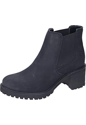 Tamaris Damen 1-1-25447-23 Chelsea Boots, Schwarz (Black Uni 7), 37 EU