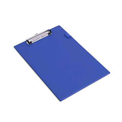 Rapesco VSTCB0L3 Portapapeles con Pinza/Clip de Seguridad - Azul
