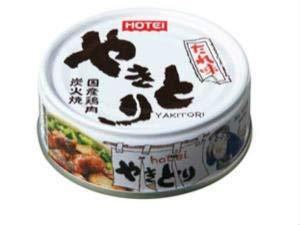 ホテイ やきとり たれ味 75g×24缶