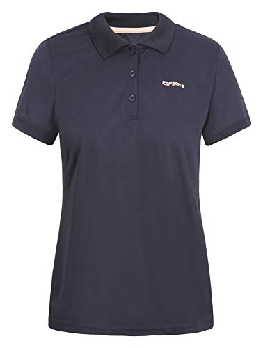 ICEPEAK Poloshirt für Damen Bayard, dunkel blau, XXL