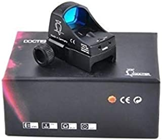 新品ドクタースコープ||| レッドドット ライフルスコープ マイクロドット 反射ホログラフィックサイト光学狩猟スコープエアガンミニドット2