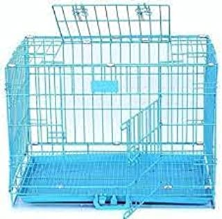 RvPaws 36-inch Metal Dog Cage Size: Large 36 inch (L 91cm X W 59cm X H 63cm) Large (Blue)