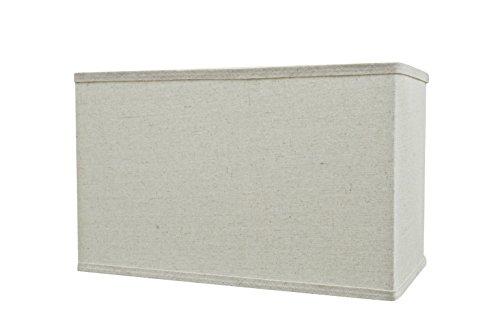 Aspen Creative 36004 - Lámpara de techo rectangular con forma de araña para montaje en forma de espalda dura, color gris claro (8') de ancho (8') x (8' + 16' x 10')