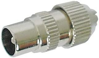 CONECTICPLUS Adaptateur antenne Type F Femelle vers antenne Femelle