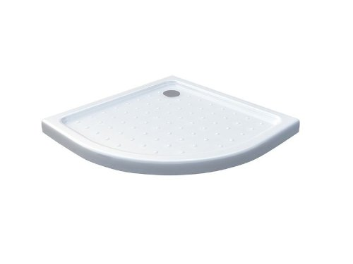 50 mm Duschtasse 80 x 80 cm Viertelkreis / Duschwanne für Duschkabine Duschwand Duschabtrennung
