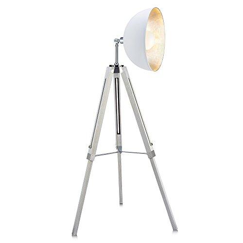 Versanora Lampadaire Fascino métal rétro projecteur cinéma lampe de sol VN-L00018-EU