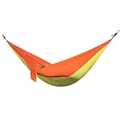 RWEAONT Hamaca Doble al Aire Libre Paño para paracaídas portátil de 2 Personas Redere jardín Silla Colgante de Silla de Viaje para Dormir (Color : Dark Gray)