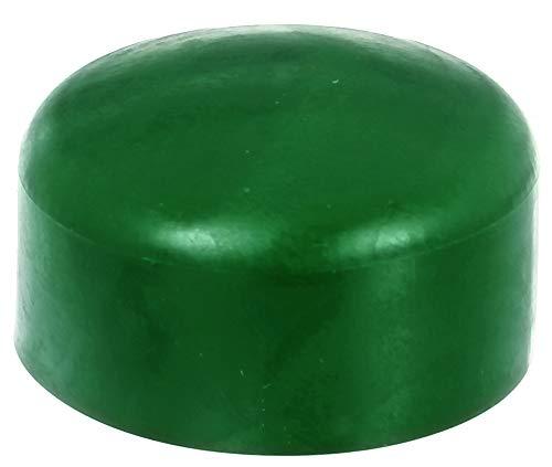 GAH-Alberts 654559 Pfostenkappe für runde Metallpfosten | Kunststoff, grün | für Pfosten-Ø 60 mm | 10er Set