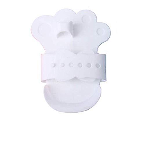 Haarkam voor huisdieren, Borstel voor huisdierenbad, Verzorging Reinigingsborstel Handschoenen Effectieve deshedding Rugmassage, Zachtheid doet de huid geen pijn (Wit)