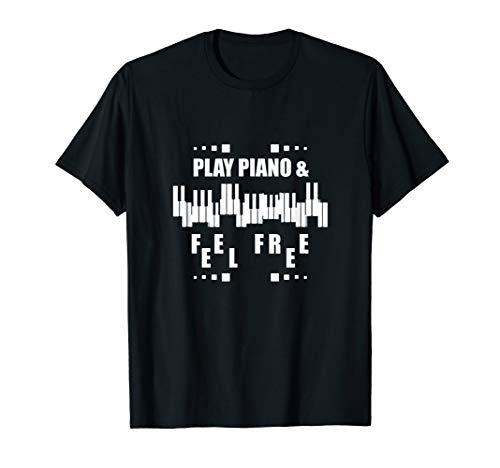 Piano | Klavier | Leidenschaft Klavier spielen T-Shirt