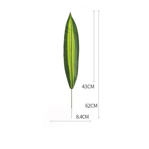KAERMA Simulation Pflanze Blatt Brasilien Blatt Single Plant Wall Material Blumenarrangement Hochzeitsarrangement Indoor-Grün (Size : No. 1 Brazil Leaf)
