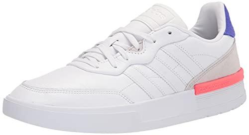 adidas Men's Futurecourt Racquetball Shoe, White/White/Sonic Ink, 10