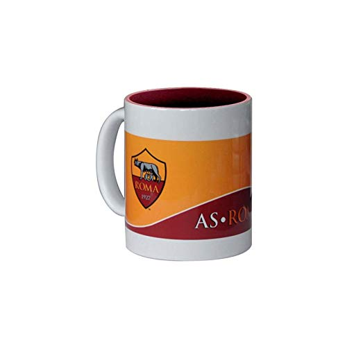 Giemme articoli promozionali - Tazza 'Mug' In Ceramica Giallorossa A.S. Roma Prodotto Ufficiale Idea Regalo