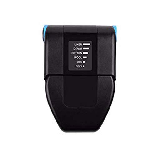 Fikujap Poner Portable, Poder de Viaje Mini Iron Portátil Mini Collar Hierro de Hierro eléctrico, con 6 Patrón de Temperatura Ajustable, sin Vapor de Agua requerido, Mini Handheld Plancha