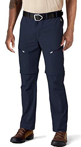 TACVASEN Pantalon Militaire Homme Short D'extérieur à Séchage Rapide Pantalon de Marche Homme Respirant Short Tactique Pantalon Camping Imperméable Denim Short de Randonnée Bleu Blue