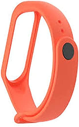 سوار ساعة ذكية برتقالى