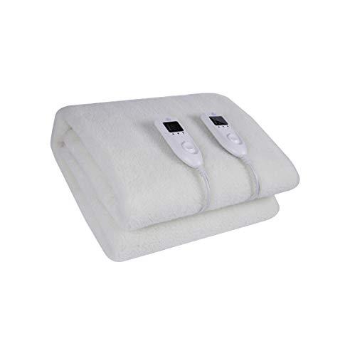 Imperial Confort - Elektrische Betten mit 5 Temperaturen - Verstellbar an der Matratze, Einzelbettgröße