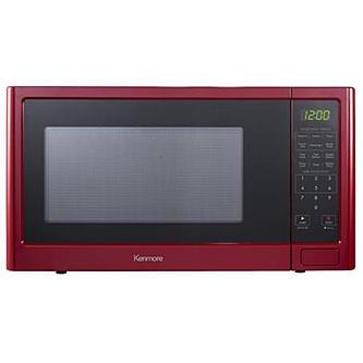 Kenmore P110N30AP-WJR 1.1 cu. ft. Microwave Oven - Red