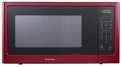 kenmore 1.1 cu ft microwave red
