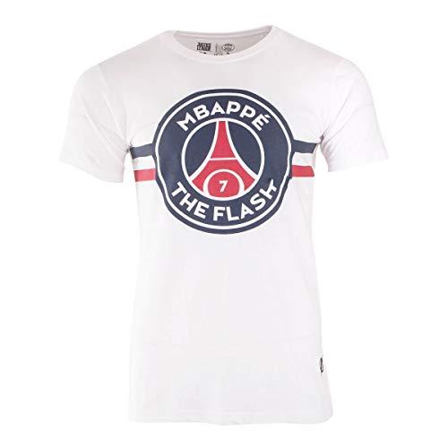 PSG MBappé Flash T-Shirt Blanc Homme x Justice League