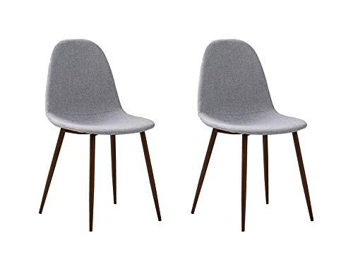 Homemania - Silla Sofie, para casa, Oficina, salón, Comedor, Cocina, Mesa, Juego de 2 sillas 🔥