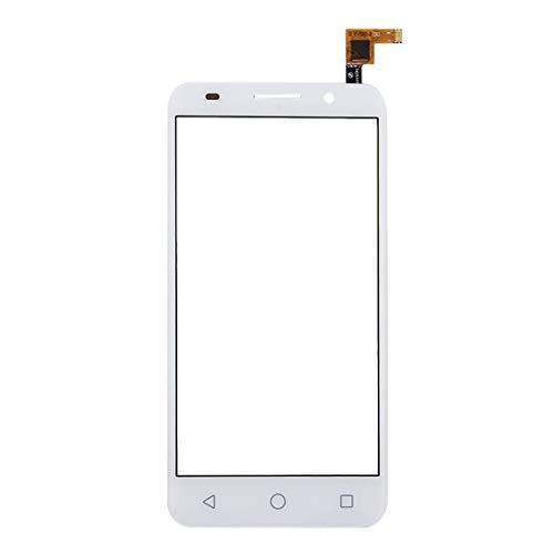 WANGQI Repuestos de reparación de teléfonos móviles For Alcatel One Touch Pixi 3 5.0/5065 Panel Táctil (Color : Blanco)