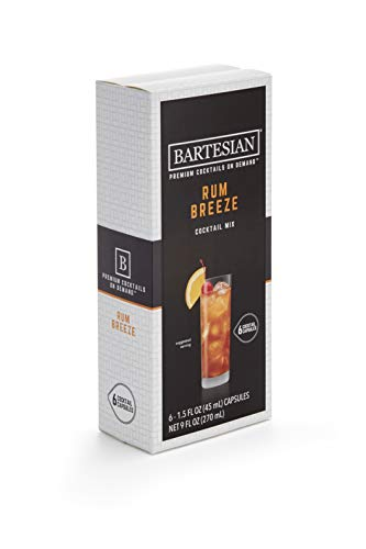 Bartesian Rum Breeze Cocktail Mixer Capsules